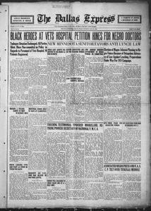 The Dallas Express (Dallas, Tex.), Vol. 34, No. 38, Ed. 1 Saturday, July 28, 1923 The Dallas Express
