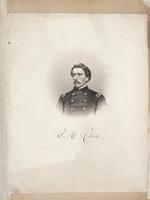 Civil War scrapbook of portraits