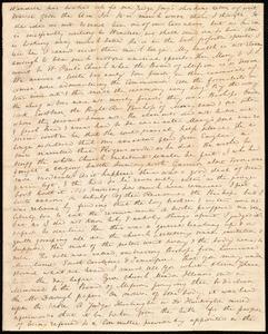 Incomplete letter from Anne Warren Weston, [1840?]