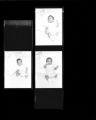 Set of negatives by Clinton Wright including child and Mr. Harris' and Mrs. Mask's classes at Highland, 1965