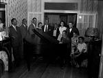 [Duke Ellington at party : cellulose acetate photonegative.]