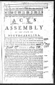 Acts of assembly of the State of North Carolina [1783] Laws of North-Carolina
