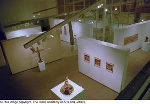 An aerial view of an exhibit at the James Kemp Gallery Reggae in the Caribbean