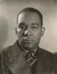 "Richard Wright, author of ""Native Son."""