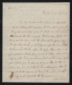 Governor Richard Caswell (2nd Administration) Correspondence: January 14-December 21, 1786