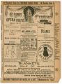 """New York As It Is"" theater program, Bijou Opera House, Minneapolis, Minnesota"