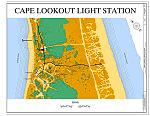 Cape Lookout Light Station, Cape Lookout, Carteret County, NC