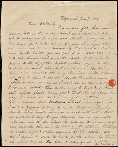 Letter from Anne Warren Weston, Weymouth, [Mass.], to Deborah Weston, June 7, 1840