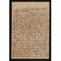 Letter from Colonel Cherry to G.G. Arthur