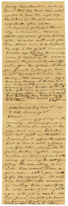 [Letter from Charles B. Moore to Linnet Moore, January 10, 1899] Charles B. Moore Family papers, 1832-1917