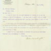 May 9, 1901 letter from Booker T. Washington