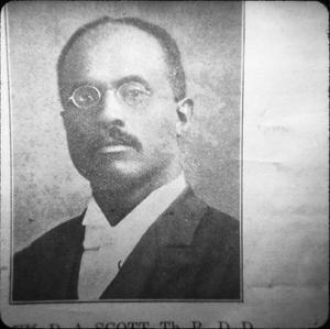 Rev. Scott, Harrison County Leader