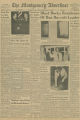 Pages from The Montgomery Advertiser, featuring an article about the bombing of the home of Martin Luther King, Jr.