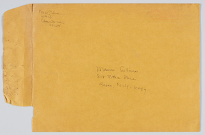 Envelope addressed to Maxine Sullivan