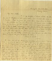 Letter from Charlotte to Samuel Cowles, 1839 December 23
