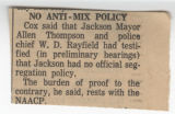 No Anti-Mix Policy