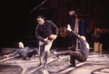 Actors in a scene from the play Paul Robeson - all-American