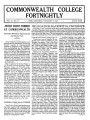 Commonwealth College Fortnightly, Vol. 11, No. 3-4, February 15, 1935; United Front Formed At Commonwealth; Delegation Back With Lynch Rope; Bertrand Russell; Intellectual Crawdad; Little Mag, What Now?; Supplement Commonwealth College Fortnightly; Thousands of Wires And Letters Must Pour In At Once