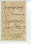 Bill of sale of slave between Joshua Townsend and Calvin Spencer