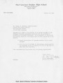 Letter to LeRoy M. Christophe