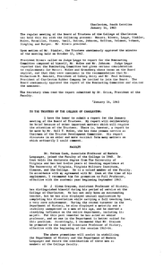Board Meeting Minutes, 1963-1968