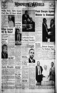 Memphis World, 1968 August 31st