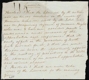 Letter from Anne Warren Weston to Deborah Weston