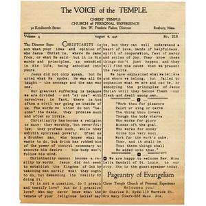 """""""The Voice of the Temple"""". No. 218"""