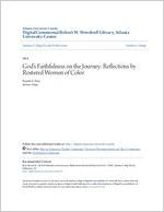 God's Faithfulness on the Journey: Reflections by Rostered Women of Color