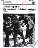 Annual report of the Community Relations Service