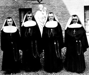 First African-American nuns to come permanently to the Twin Cities.