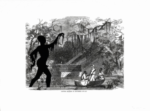 Thumbnail for Cotton Hoards in Southern Swamp, from the portfolio Harper's Pictorial History of the Civil War (Annotated)