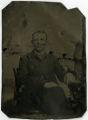 Tintype of Peter Kelley