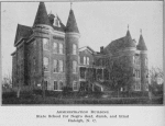 Administration building; State School for Negro deaf, dumb and blind; Raleigh, N.C
