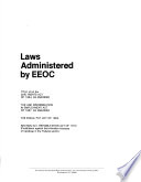 Laws administered by EEOC