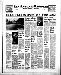 San Antonio Register (San Antonio, Tex.), Vol. 45, No. 10, Ed. 1 Friday, June 11, 1976 San Antonio Register