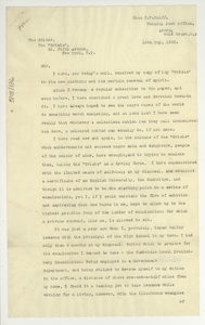 Letter from Charles C. V. Wulff to Editor of the Crisis