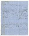 Letter by Jacob Kibbler, Newberry, South Carolina, to Ziba Oakes