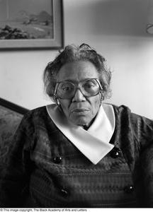 Mable Chandler seated for portrait Dallas/Fort Worth Black Living Legends Dallas/Fort Worth Black Living Legends, 1992