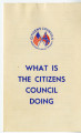 What is the Citizens' Council Doing?