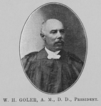 Pioneers in Livingstone College work; Rev. Wm. H. Goler, A.M., D.D., President