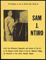 Handbill. Sam J. Ntiro