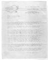 Letter from J. S. Longdon to SGA President Anne Prince