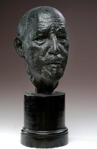 Head of Dr. W.E.B. Dubois