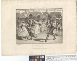 A black ball : la pastorelle / W. Summers, del. C. Hunt, sc.