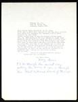 Davis, letter, 1962, to Lott