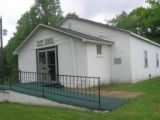 Barrs Chapel CME church: vestibule and entrance