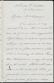 Letter to] My dear Mrs. Chapman [manuscript
