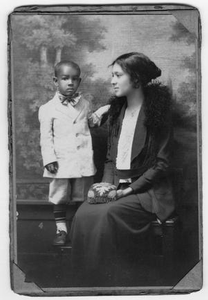 Portrait of an Unidentified Mother with a Child
