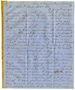 Correspondence - Letter book Volume VI